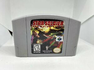 Star Soldier: Vanishing Earth N64 (Nintendo 64, 1998) Authentic & Working!