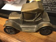 Vintage Metal Car Bank By Banthrico Of A 1915 Chevy Made In 1974.