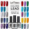12ml LEMOOC Gel Polish Vernis à Ongles Semi-permanent Nail Art Soak off UV Gel