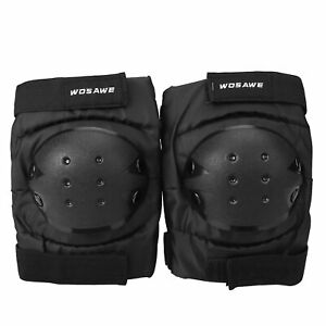 Pair of Wrist Skate Sports Guard Adult Safe Elbow Knee Pads Protective Gear Pad