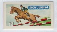New listing Sports and Games 1954. Show Jumping