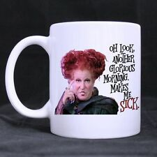 Details about  Funny Hocus Pocus Mug Oh Look Another Glorious Morning Makes Me S