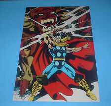 MARVEL COMICS MIGHTY AVENGERS THOR POSTER PIN UP