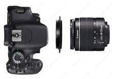 Lente Adaptador Anillo Inversa de macro 55 mm para Cámara Canon Eos 60D/70D/1D