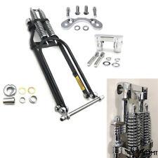 """26"""" Springer Front End w/ Handlebar Adapter 2"""" Handlebar Riser For Harley Custom"""