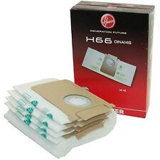 4 ORIGINALI HOOVER H66 S9040 SX9540 SX9541 SX9545 SX9750 SX9760 35600852 sacchetti di polvere