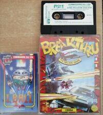 COMMODORE 64 x3 BREAKTHRU FIST II LEGEND CONTINUES I,BALL DATA EAST FIREBIRD C64