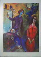 Marc Chagall Artist and Model Kunstdruck G-5976