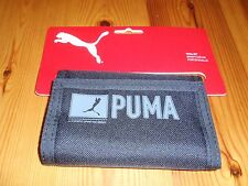 *NEW* PUMA Pioneer Black Trifold Wallet