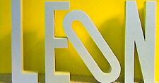 3D Deko Buchstaben Styrodur 10 cm groß Wanddeko Zahlen Design Logo Schriften
