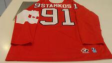 Team Canada 2014 Sochi Winter Olympics Hockey Jersey L Red Steven Stamkos