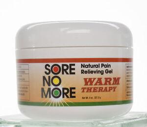 Sore No More Warm Therapy Pain Relief Arthritis 4oz Jar