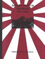 Japanese Armor in Manchuria 1931 - 1945