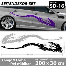 Dragon Style Seitenaufkleber XXL Drache Auto Tuning Aufkleber Vinyls . SD-16