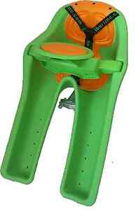 Ibert Front Mount Bicycle Baby Seat NEW Steering Wheel Bike Child Carrier Green