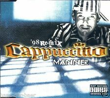 CAPPUCCINO-uomini ('98 Remix) ♫ MAXI-SINGLE-CD da 1998 ♫ NUOVO ♫ rarità