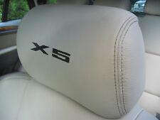 BMW X5 HEADREST CAR SEAT DECALS Vinyl Stickers - Graphics X5