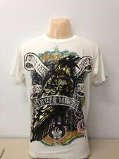 Shiroi Neko Minute Mirth T Shirt Raabe Rave  Gr.S Farbe Weiss-MD19