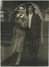 Italia, Brunella Bovo, attrice italiana  Vintage  Tirage argentique  22x30