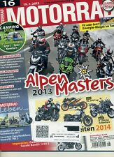 MOTORRAD Zeitschrift 16/2013