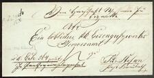 ÖSTERREICH 1846 VORPHILABRIEF von DOBRZISCH (D0883