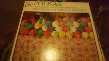 "Polkas Con Mariachi Jalisco De Pepe Villa (12"" LP Vinyl Record EX-5073, 1962)"
