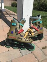 Rare Mens Cool Blade Rollerblade Inline Skates US Size 7.5, EU 6.5 Made In Italy