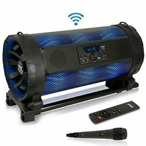 Portable Bluetooth Boombox Stereo System - 600 W Digital Outdoor Wireless Loud S