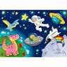 Fototapete Kinderzimmer Weltraum Star All Weltall Kosmonaut Mond Sterne no. 89