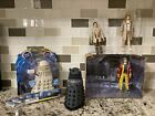 Doctor Who Sound FX Classic Necros Dalek, 5th, 6th, 7th Dr & Genesis Figures