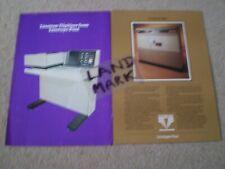 More details for vintage linotype paul linotron 606 & digitiser brochures phototypesetting