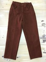 ROPER - Vtg 90s Brown Denim Western Cowgirl High Waisted Jeans, Womens 13/14