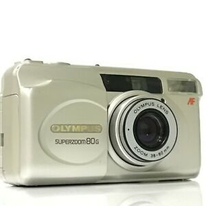 Olympus SUPERZOOM 80G 35mm Point & Shoot Film Camera - Excellent+++ [TK]