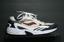 Saucony Grid VTG OG Running Sneakers Multi White Navy Orange Women 11 Athletic