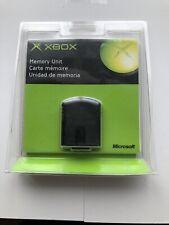 XBOX Microsoft Original Memory Unit in Factory Packaging New!!!