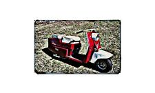 Cushman Pacemaker Motorbike A4 photo Retro Bike