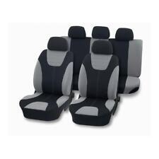 DIANA Sitzbezug Komplettset Comfort Style, silber-schwarz