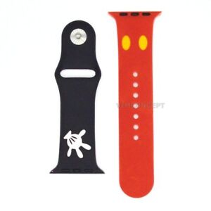 Authentic Disney Mickey Bracelet Band Replacement For Apple Watch 42mm / 44mm