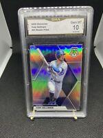 2020 Panini Chronicles Mosaic Cody Bellinger #84 Holo Prizm Card Dodgers GMA 10