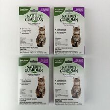 4 Months Nature's Guardian Squeeze-On Control Kills Fleas Ticks Cats Kitten Safe