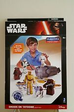 STAR WARS - BLUEPRINTS PAPER CRAFT DROIDS ON TATOOINE DESERT PACK - TOYS/GAMES