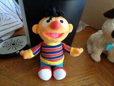"Sesame Street ERNIE 11"" Plush 2004 Mattel EUC"