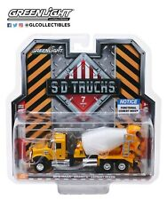 GreenLight 1/64 S.D. Trucks Series 7 - 2019 Mack Granite Cement Mixer 45070-B
