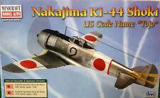 1/144 Scale Minicraft Models 'Nakajima Ki-44 Shoki US Code Name Tojo' Kit #14656