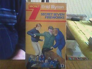 Secret Seven Fireworks-Enid Blyton Paperback English Knight 1983