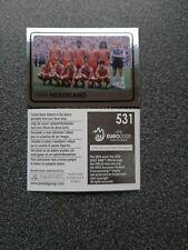 PANINI EURO 2008 NR. 531 NEDERLAND 1988