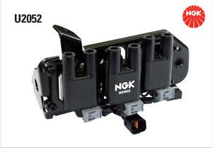 NGK Ignition Coil U2052 fits Hyundai Santa Fe 2.7 4x4 (SM), 2.7 V6 GLS 4x4 (CM)