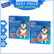 NexGard Spectra 30.1 to 60 kg Chewable for Dogs - 6pack