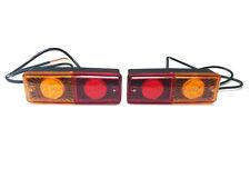 2x LED Rückleuchte PKW LKW Anhänger Trailer Wohnwagen Traktor 12V 24V E20 ECE