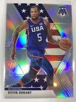 2019 - 20 Panini Mosaic Kevin Durant Silver Prizm #251 Team USA Olympics